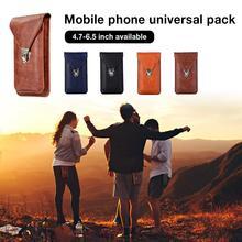 Rondaful High Quality Universal Pocket For 6.5-inch Mobile Phone Shoulder Bag Outdoor Pack Case Cover