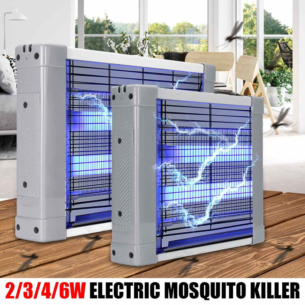 Lights & Lighting Beautiful Zinuo Electronics Mosquito Killer Lamp Control Moth Fly Wasp Led Trap Lamp Bug Insects Killer Light Pest Zapper Repeller