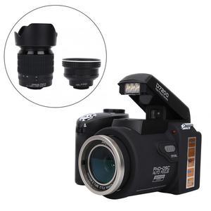 "Image 2 - D7200 33MP דיגיטלי מצלמה DSLR 0.5X רחב זווית עדשה + 24X טלה עדשה + LED אור 3.0 ""TFT LCD תצוגת מלא HD מצלמה"