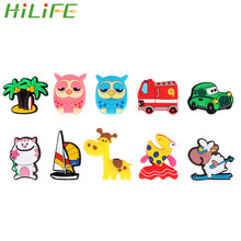 HILIFE Ornaments Home Decoration 1Pcs Cartoon Animals Silicone For Kids gifts Gadgets Fridge Magnets Refrigerator Decors(China)