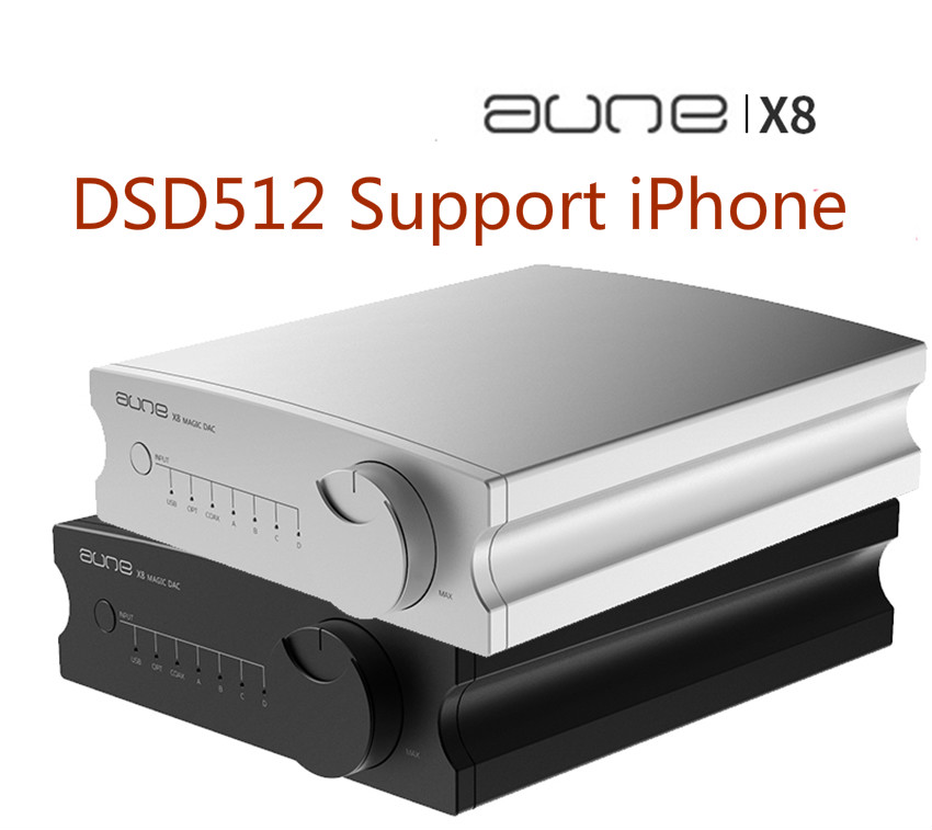 2019 Newest AUNE X8 HIFI <font><b>DAC</b></font> Audio Decoder ES9038Q2M USB <font><b>DAC</b></font> Amp DSD512 Coaxial Optical PCM32bit 768kHz ES9038 Pre-Amplifier image