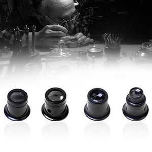 15X Monocular Magnifying Glass Loupe Lens Eye Magnifier Lens  Repair Kit Tool @