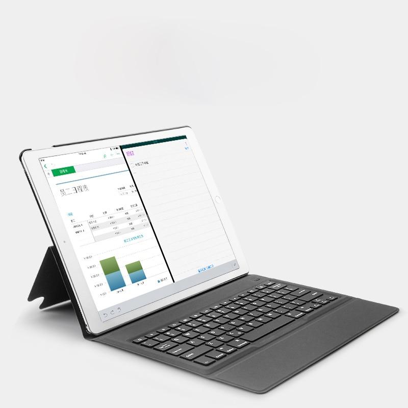 Étui pour iPad Pro 12.9 Sans fil Ultra mince étui pour clavier bluetooth Pour iPad 12.9 15 Édition/17 Édition + Cadeau