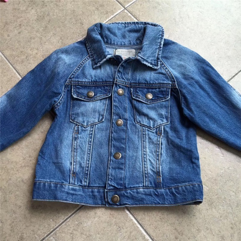 baby girl denim jacket for girl spring jacket solid casual fashion kids outwear baby girl clothes children outfit new boutiques