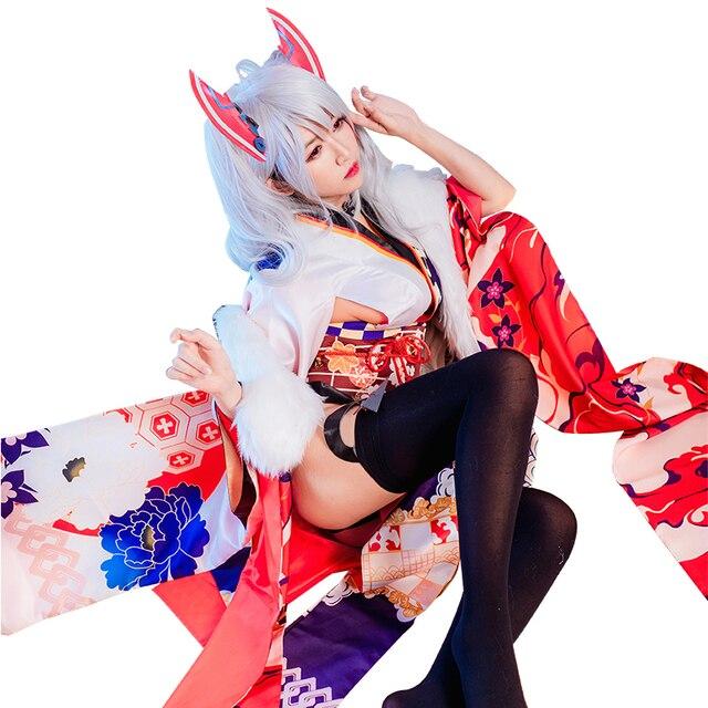 MMGG Azur Lane cosplay Prinz Eugen cosplay costume Kimono Cosplay Clothing Woman C Serve