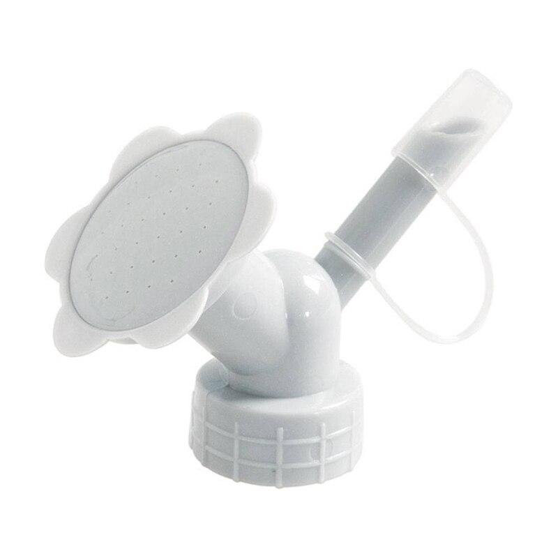 1X Dual Headed Plants Watering Head Screw Cap Bottle Shower Spray Cans Sprayer Garden Tool Sprinkler For Watering Plants&Flowers