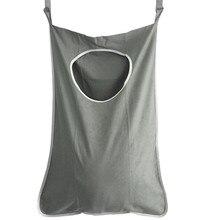 Складная подвесная корзина для белья для детей, большая емкость для хранения грязной одежды, переносная прочная корзина из ткани Оксфорд