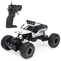 28cm 1:16 2.4G 4WD Climbing Car RC Dual Motor Off road Vehicle Monster Trucks Model Toy Silver