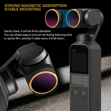 Gimbal Camera Lens Adjustable ND64-PL Filter for DJI OSMO Pocket