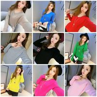 Sweater Tops Sleeve Loose Knit Baggy Jumper Womens Casual Long Sleeve Loose Knit Sweater Jumper Baggy Pullover Tops Knitwear