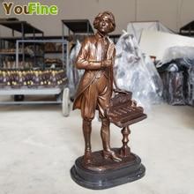 цены на Best selling celebrity statue bronze Chopin sculpture music characters home decorations souvenirs в интернет-магазинах