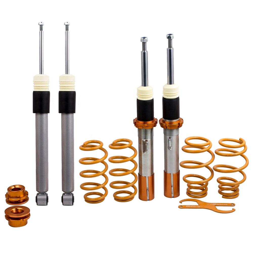 Kit de Suspension de Coilovers de course de rue pour les jambes d'amortisseur de GOLF MK5 MK6 nouveau