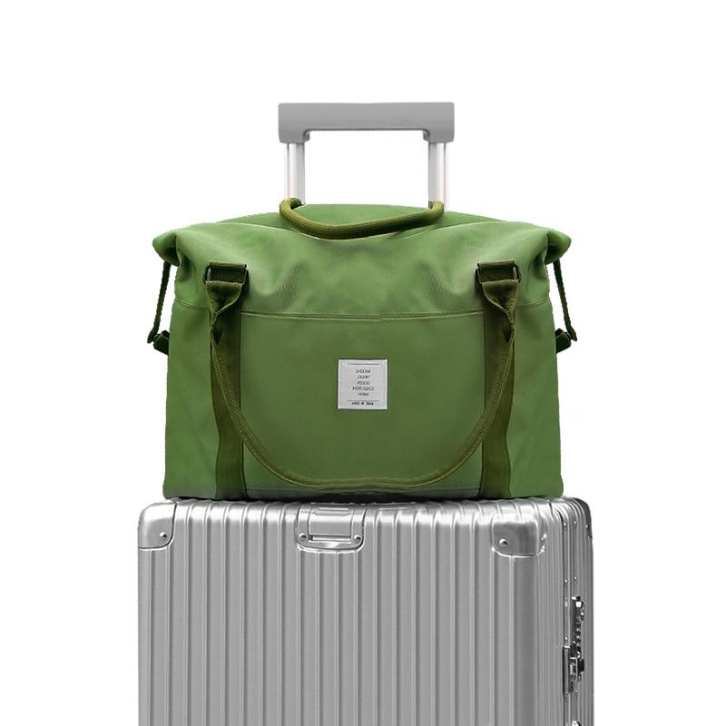 New Fashion Large Travel Bags Shoulder Portable Big Duffle Bag Travel Organizer Weekend Bag Waterproof Overnight Bags Women Tote