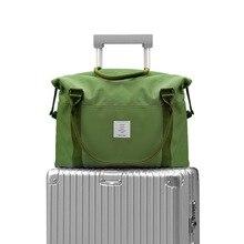 Купить с кэшбэком New Oxford Brand Travel Bags Waterproof Women Men Large Duffle Bag Organizer Packing Cubes Luggage Casual Weekend Bag Hand Bags