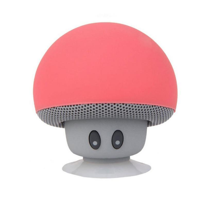 Bluetooth Speakers Mushroom Hairstyle Bluetooth Speakers Waterproof Wireless Mini Home Outdoor Subwoofer Speaker Gift