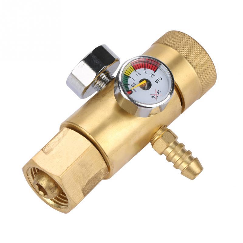 0,4-25mpa Sauerstoff Gas Druck Minderer Gas Regler Druckregler Luftstrom Manometer Meter Druck Mess Werkzeuge