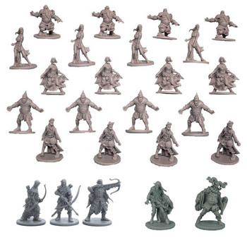 Board Role-playing Games Model Endless Slaughter Black Death Zombicide Black Plague – Npc Zombie