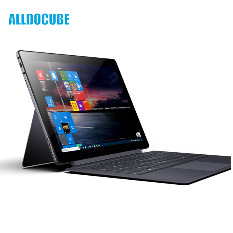 Windows 10 128 gb IPS 2560*1440 D'origine Boîte Alldocube KNote X Intel Gemini Lac N4100 Quad Core 13.3 pouce 2-in-1Tablet Ordinateur