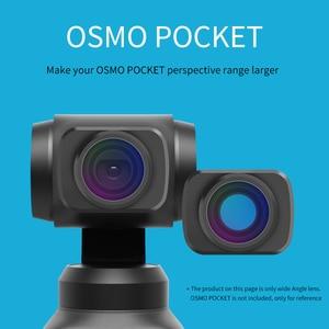 Image 3 - OSMO Pocket Mini Draagbare groothoek Camera Lens/Macro Lens Voor DJI OSMO Pocket Magnetische Camera Lens Accessoires