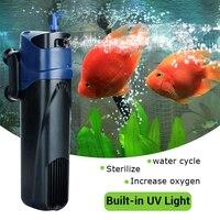 JUP 02 5W 220 240V/50Hz 500L/H UV Filtration pump Submersible Pump Aquarium Fish Tank