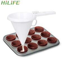HILIFE украшение торта Воронка для шоколада десерт Инструменты для выпечки кулинарные инструменты Регулируемые кухонные аксессуары гаджеты