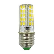 E27 LED Silicone Lamp Bulb 4W 80 Leds 110V 100-120V AC LED Chandelier Corn Bulb Light Warm White tzy 667 g9 4w 220lm 6500k 24 smd 5730 led white light corn lamp white silver ac 110 120v