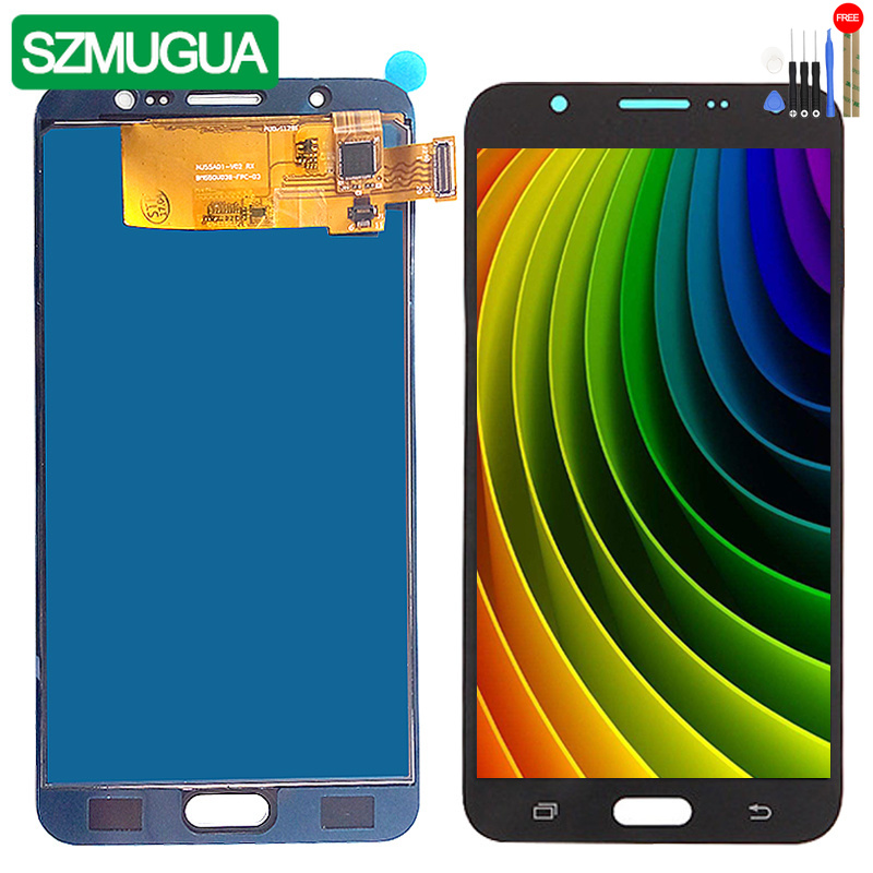 SZMUGUA SM-J710FN/F/M/H/DS Per Samsung Galaxy J7 2016 J710 Touch Sreen + LCD display J710H J710FN J710F J710M/DS del Pannello Dello SchermoSZMUGUA SM-J710FN/F/M/H/DS Per Samsung Galaxy J7 2016 J710 Touch Sreen + LCD display J710H J710FN J710F J710M/DS del Pannello Dello Schermo