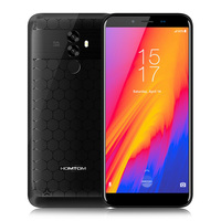HOMTOM S99 4G Phablet 5.5 inch Android 8.0 MTK6750 Mobile Phone CellPhone Smartphone 4+64G Dual Camera