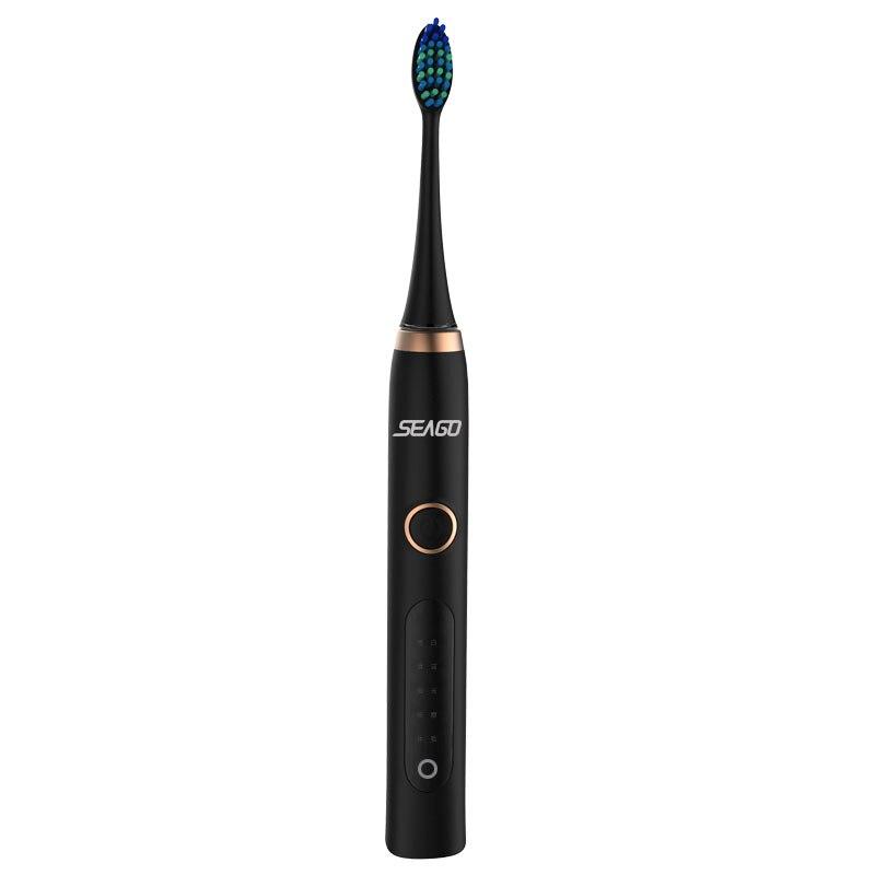 Offre spéciale SEAGO charge inductive smart ondes Sonores brosse à dents électrique SG986