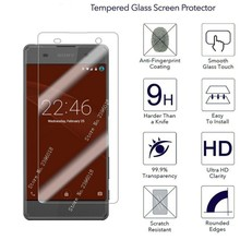 9H HD Hardness Tempered Glass For Sony Xperia 10 XZ1 XA XA1 XA2 Ultra Compact Clear Screen Protector Glass On L1 L2 L3 Cover цена