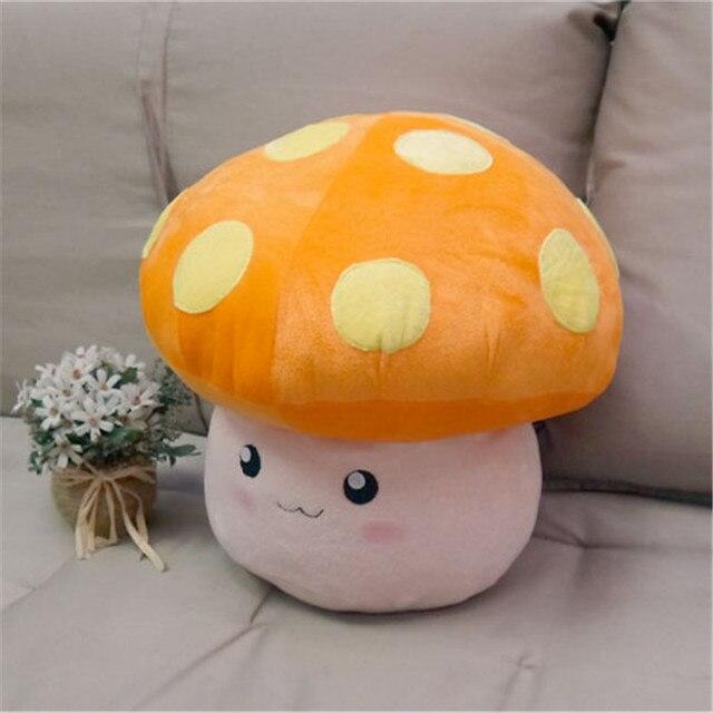 MapleStory peluş oyuncak 35cm mantar krallık çiçek mantar figürü cosplay bebek sevimli yüksek kaliteli yumuşak peluş kesim şeyler yastık