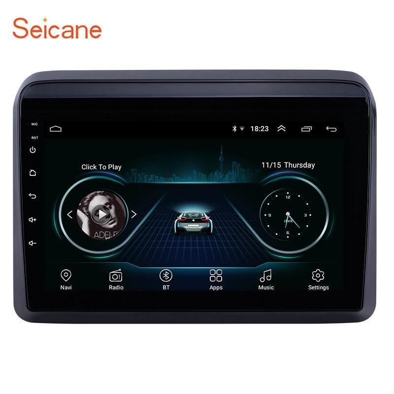 Seicane Car Multimedia player GPS Autoradio 2 Din 9 Inch For Suzuki ERTIGA 2018 2019 Bluetooth FM Radio support WIFI DVR OBD 3G