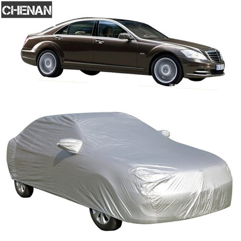 Universal Car Covers Size S/M/L/XL SUV L/XL Indoor Outdoor Waterproof Full Car Cover Sun UV Snow Dust Rain Resistant Protection(China)
