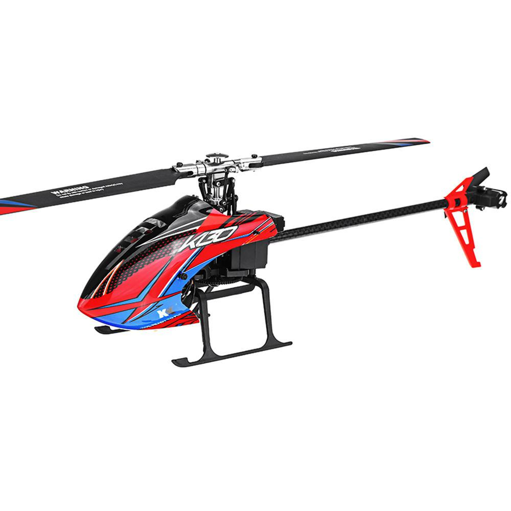 LeadingStar XK K130 2.4G 6CH Brushless 3D6G System Flybarless RC Helicopter BNF Compatible With FUTABA S-FHSS(China)