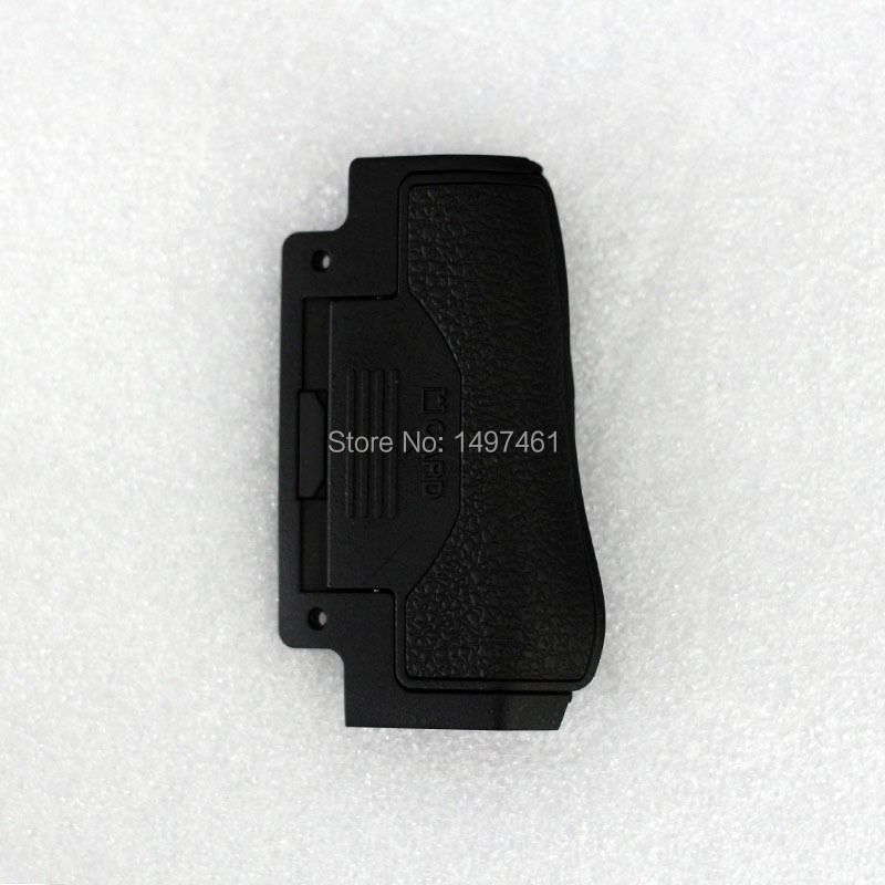 New genuine CF and SD memory card cover Chamber Lid With Rubber repair <font><b>parts</b></font> for <font><b>Nikon</b></font> <font><b>D810</b></font> D810a SLR image
