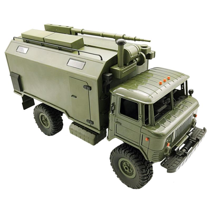 Ural Army Truck Scale 1/16 2.4G 6WD RC Model Toy Car Off-rode Military Truck Remote Contral Climbing Rock Crawler KitUral Army Truck Scale 1/16 2.4G 6WD RC Model Toy Car Off-rode Military Truck Remote Contral Climbing Rock Crawler Kit