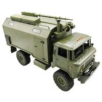 Ural Army Truck Scale 1/16 2.4G 6WD RC Model Toy Car Off rode Military Truck Remote Contral Climbing Rock Crawler Kit