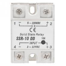 цена на SSR-10 DD 10A 5-220VDC Solid State Relay For Industrial Automation Process High Quality