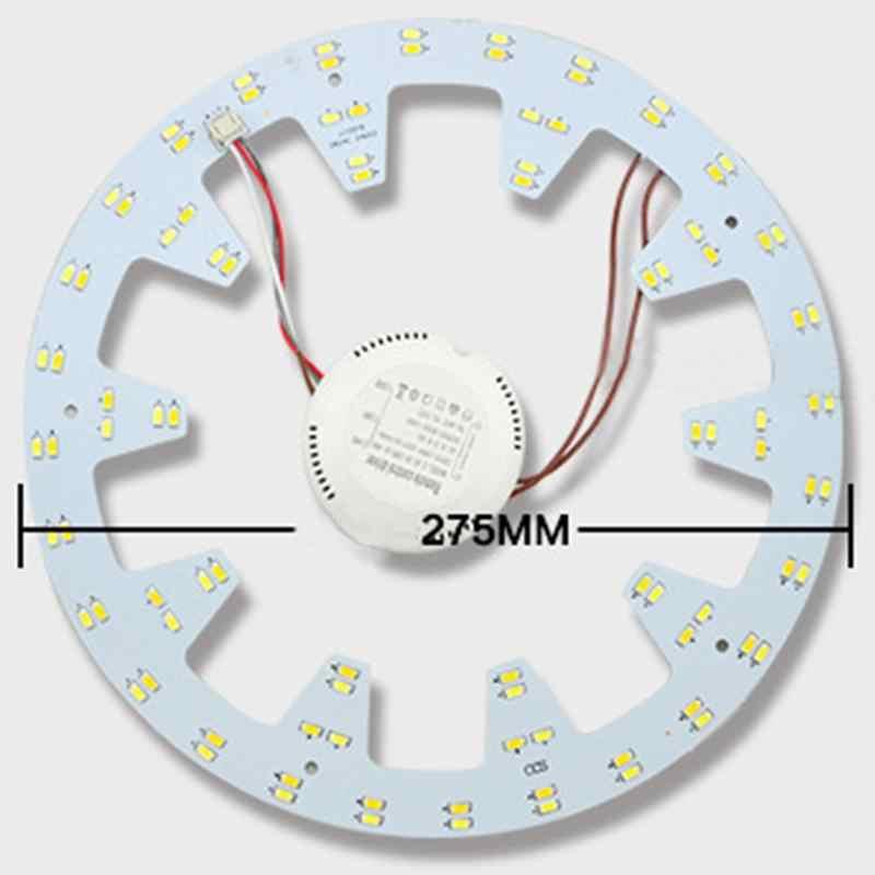 10.82in 24W 96 Светодиодный s 5730 SMD три светильник Цвета светодиодный потолочный светильник Алюминий круглая доска светодиодный Панель светильник s