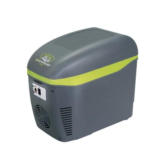 Холодильник автомобильный Endever VOYAGE-001 (мощность 52Вт, объем 7,5 Л, нагрев и охлаждение, работа от прикуривателя 12 в)