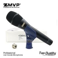 Top Quality KSM9 Professional Live Vocals KSM9HS Dynamic Wired Microphone Karaoke Microfone Supercardioid Podcast Microfono Mic