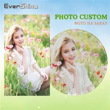 EverShine 5D DIY Photo Custom Diamond Painting Full Round Art Picture Of Rhinestone Cross Stitch Embroidery Sale