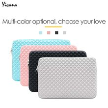 "Yicana Tas Laptop Notebook Sleeve Case untuk Macbook Udara Pro Retina 11 13 15 ""Ultrabook Lycra Tahan Air Tablet Pelindung cover(China)"