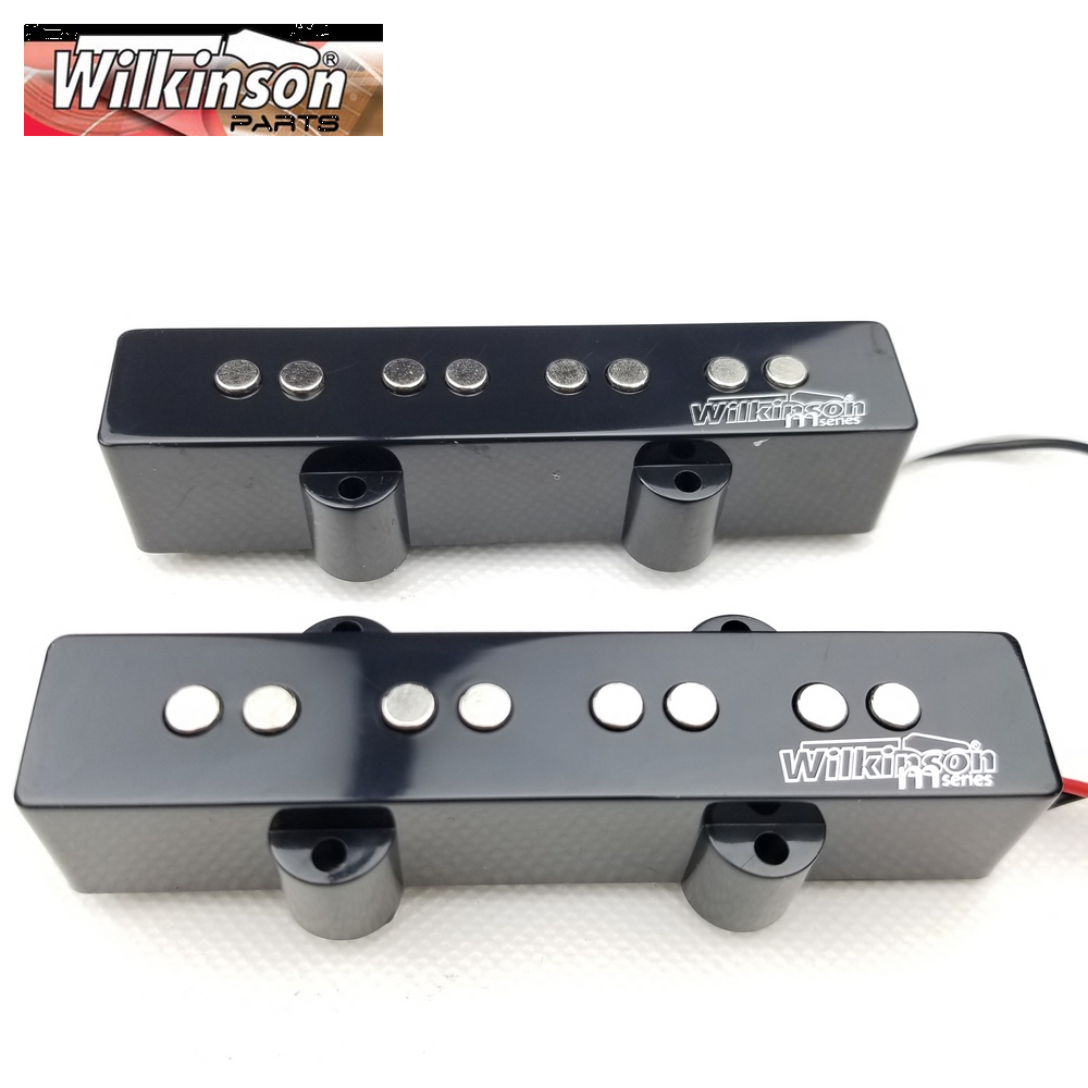 Wilkinson Lic Vintage Style 4 Strings JB jazz electric bass Guitar Pickup four strings guitar pickups WOJBWilkinson Lic Vintage Style 4 Strings JB jazz electric bass Guitar Pickup four strings guitar pickups WOJB