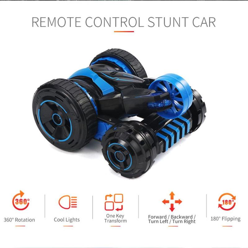 2.4G RC Car 360 Remote Control Off Road Electric Race Double Side Car Toys for Children Gift 2.4G RC Car 360 Remote Control Off Road Electric Race Double Side Car Toys for Children Gift