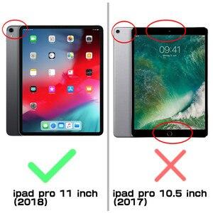 Image 2 - Capa para lápis da apple compatível, capa para ipad pro 11 suporte de corpo inteiro ub capa robusta com construção no protetor de tela & kickstand