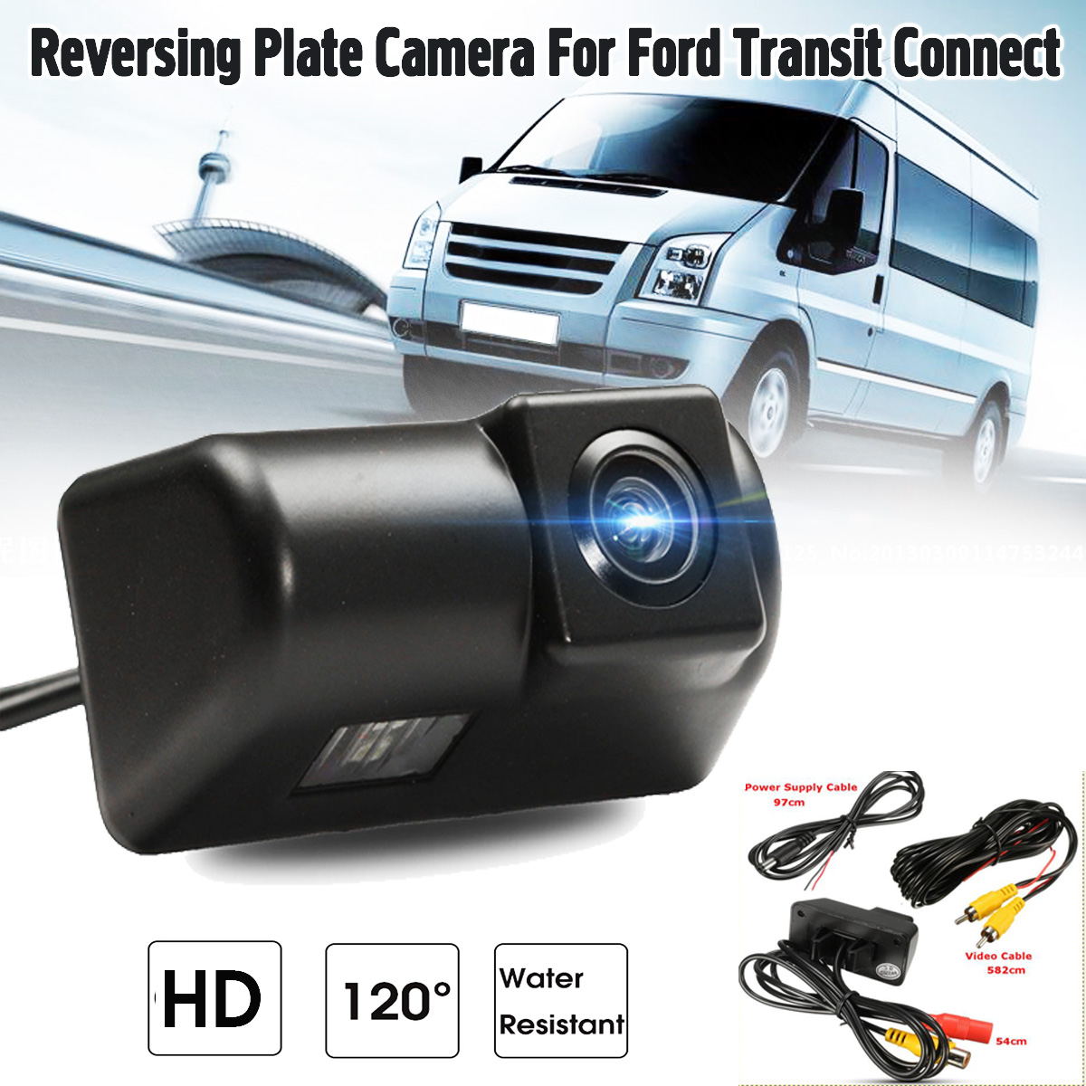 Водонепроницаемая камера заднего вида HD для Ford /Transit /Connect