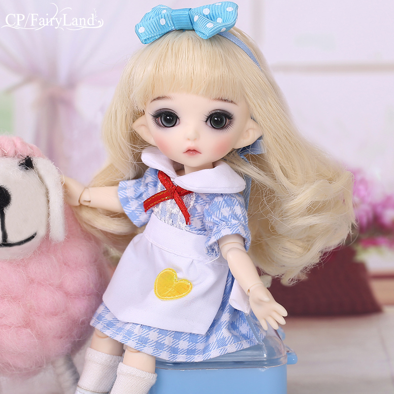 Free Shipping Pukifee Luna BJD Doll 1/8 Tiny Cute Ball Jointed Doll Resin Fairies Best Birthday Gift Toy For Girl Fairyland