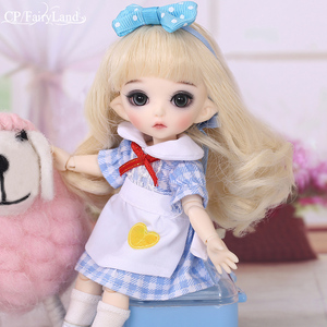 Image 2 - Free Shipping Pukifee Luna Doll BJD 1/8 Tiny Cute Ball Jointed Doll Resin Fairies Best Birthday Gift Toy For Girl Fairyland