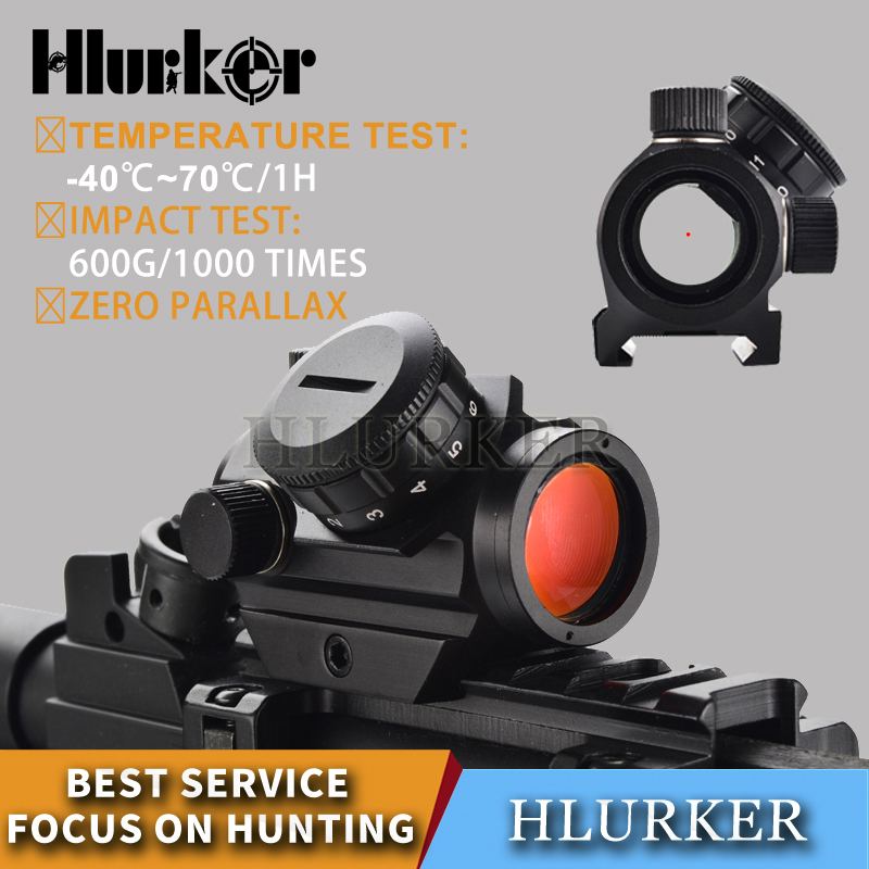 Tactical 1X Electro Dot Sight/ Red Dot Scope/ Red Dot Sight Riflescope Collimating Optical Rifle Scope For Air Gun Hunting